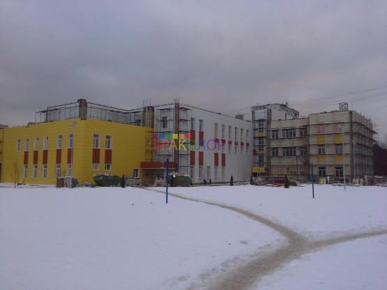 Школа Троицк металлокассеты