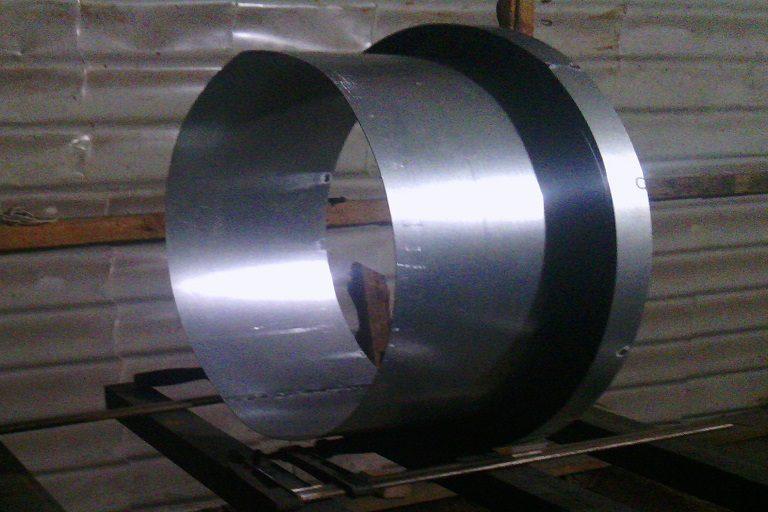 цена радиусного откоса из оцинкованной стали