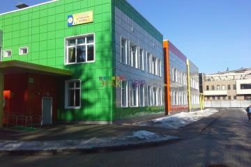 Детский сад металлокассеты