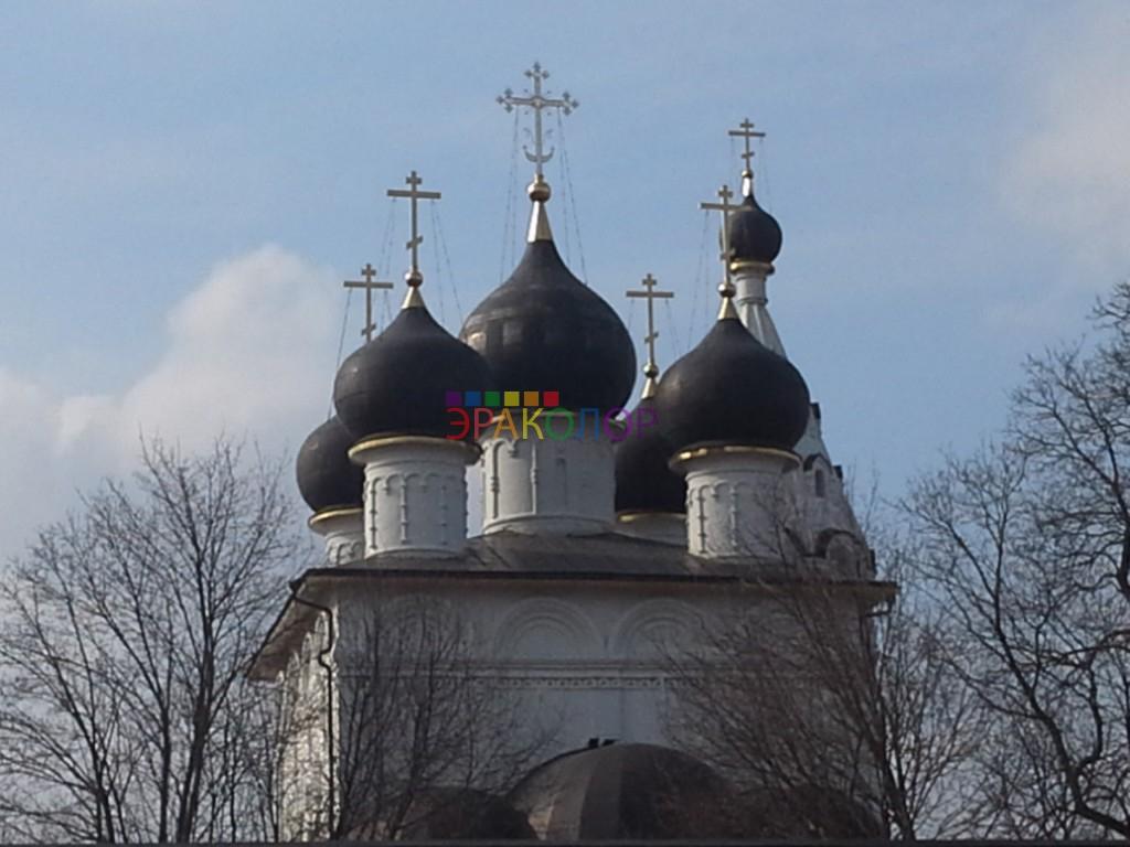 Монтаж кровли на Церкви
