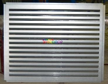 фасадной вентиляционной решетки